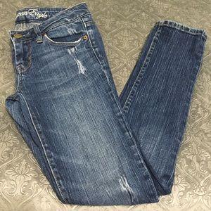 America eagles skinny jeans